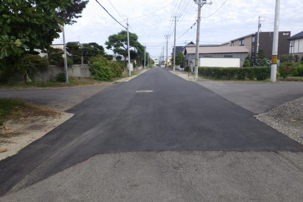 特殊舗装道路改良工事 第7工区
