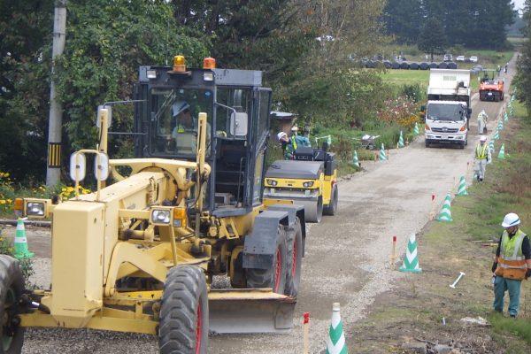 特殊舗装道路改良工事第6工区